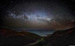 Milky Way Wellington 4K HD Desktop Wallpapers for Dual Monitor