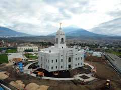 Arequipa Peru Temple Photograph Gallery