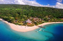 Tropics Coast Scenery Vanuatu South Pacific Ocean Village Nature