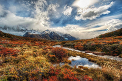 Wallpapers Argentina Patagonia Nature Mountains Sky Grass Clouds