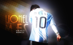 Messi Wallpapers In Argentina Jersey