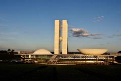 Brasilia Brazil Capital City Landscape Distrito Federal President