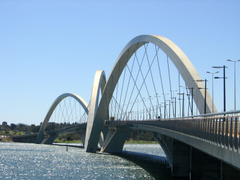 Ponte JK em Brasília 4K HD Wallpapers