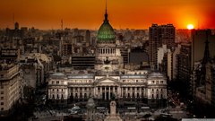Argentine National Congress Palace Buenos Aires Argentina HD