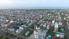 Georgetown Guyana Drone Flight around GFC