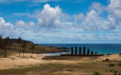 Easter Island Statues Android wallpapers for