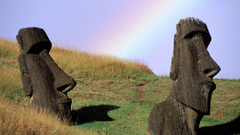 Chile Easter Island moai wallpapers