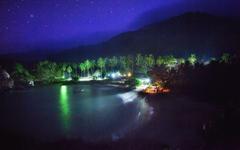 Colombia Cabo San Juan Tayrona National Park Nighttime