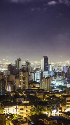 Wallpapers Medellin Republic of Colombia city night buildings