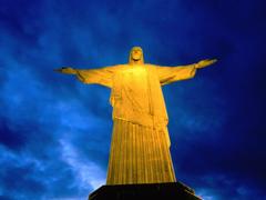 Brazil Rio De Janeiro statues Cristo Redentor Christ the Redeemer