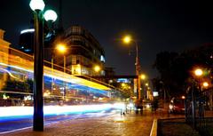 Wallpapers night movement excerpt Lima night Peru Peru Lima
