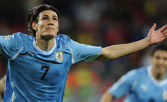 Football player of the national team of Uruguay wallpapers and