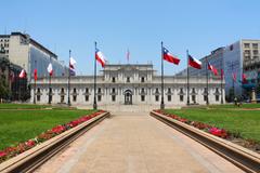 President Palacio de la Moneda Santiago Chile wallpapers and