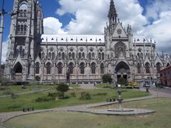 Religious Century Cathedral Ecuador Cathedra Quito Churches Ancient