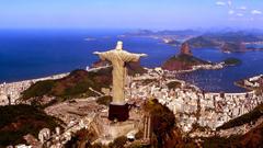 Christ The Redeemer Statue In Rio De Janeiro Wallpapers