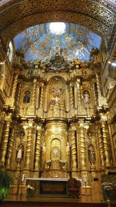 Quito Church Of The Society Of Jesus place of worship religion