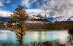 Emerald Lake In The Andes 4K HD Desktop Wallpapers for 4K Ultra HD