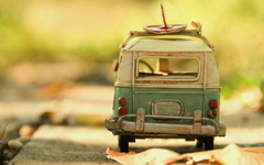 Cool Vintage Volkswagen Toy Image Wallpapers HD