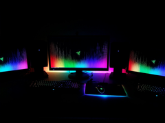 Here s my Chroma setup to go along with the new wallpaper razer