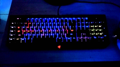 Razer BlackWidow Ultimate Chroma Lighting Demo