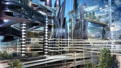 Futuristic Architecture widescreen wallpapers