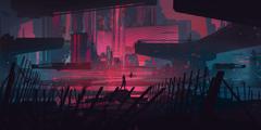Minimalist Cyberpunk Wallpapers posted by Samantha Simpson