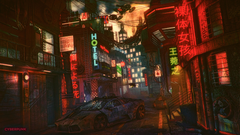 Wallpapers 4k Futuristic Cyber City Lamborghini Night 4k 4k