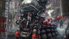 Cyberpunk Desktop Backgrounds posted by Michelle Mercado
