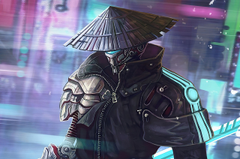 x1700 Cyberpunk Samurai 4k Chromebook Pixel HD 4k Wallpapers Image Backgrounds Photos and Pictures