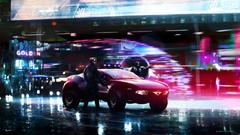 Cyberpunk Police Cars