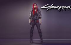 Wallpapers Girl The game Art Cyborg CD Projekt RED Cyberpunk