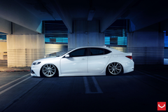 Acura TLX vossen wheels tuning cars wallpapers