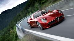 Alfa Romeo 8C Competizione 4K HD Desktop Wallpapers for 4K Ultra