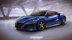 Acura Nsx Type R Rendering Is Awesome To Behold with regard to