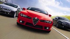 Alfa Romeo Brera Tuning Front Hd Wallpapers