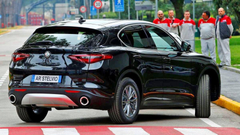 image with the regular Alfa Romeo Stelvio emerge