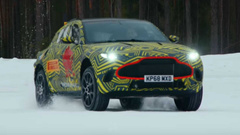 Aston Martin DBX Snowy Drifts Are Part Of Testing Procedure