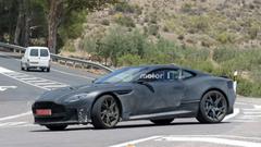Aston Martin DBS Superleggera Spied Up Close UPDATE