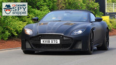 Aston Martin DBS Superleggera Volante spied testing