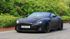 Aston Martin DBS Superleggera Volante Gets Spied in New Shots