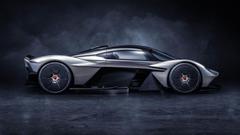 The Aston Martin Valkyrie Hypercar