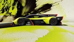 Aston Martin Red Bull debut track