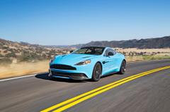 Blue Aston Martin Vanquish HD Wallpapers Car Pictures Website