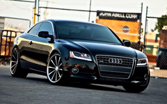 Audi A5 Coupe Black Wallpapers