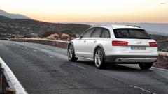 Audi A6 allroad quattro wallpapers