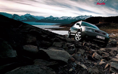 Audi Allroad rocks wallpapers