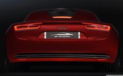 Audi E Tron Rear 4K HD Desktop Wallpapers for 4K Ultra HD TV