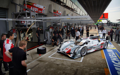 WotD Pit Practice at the 24 Hours of Le Mans