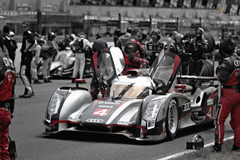 S S L Wallpaper On the Grid at Le Mans