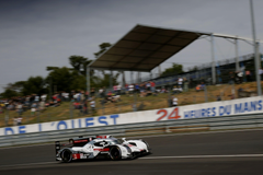 SUCCESSFUL LE MANS 24 HOUR TEST FOR AUDI R18 E